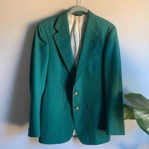 VTG Chaps Ralph Lauren Green Masters Sport Coat 40